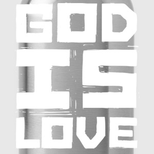GOD IS LOVE T-Shirts - Trinkflasche