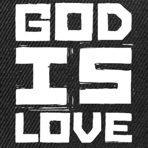 GOD IS LOVE T-Shirts - Snapback Cap