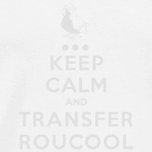 Keep Calm Roucool Badges - T-shirt Premium Homme