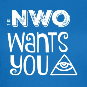 The NWO wants you Tassen & Zubehör - Frauen T-Shirt