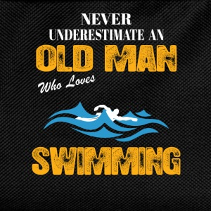 Never Underestimate An Old Man Who Loves Swimming T-Shirts - Kids' Backpack