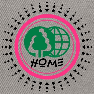 Planète home sweet home Tee shirts - Casquette snapback