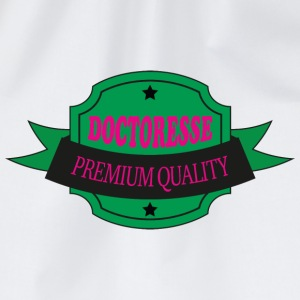 Doctoresse premium quality T-shirts - Gymtas