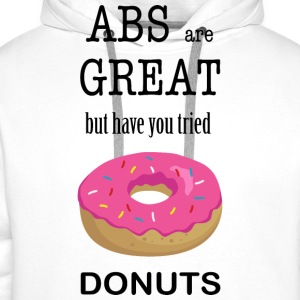 Donuts Are Great - Männer Premium Hoodie