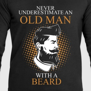 Never Underestimate An Old Man Beard.png T-Shirts - Men's Sweatshirt by Stanley & Stella