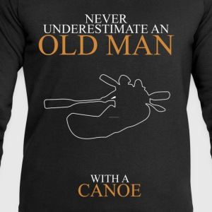 Never Underestimate An Old Man Canoe.png T-Shirts - Men's Sweatshirt by Stanley & Stella