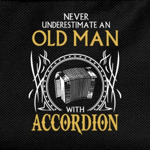 Never underestimate an old man with accordion.png T-Shirts - Kids' Backpack