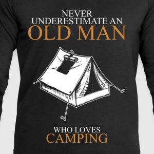 Never Underestimate An Old Man Camping.png T-Shirts - Men's Sweatshirt by Stanley & Stella