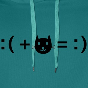Formula For Happiness (Cat) T-shirts - Premiumluvtröja herr