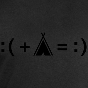 Formula For Happiness (Camping) T-Shirts - Men's Sweatshirt by Stanley & Stella