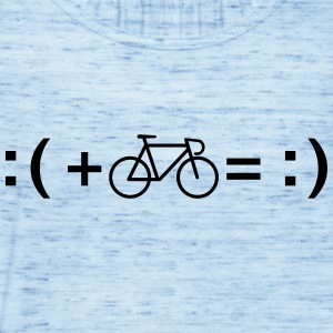 Formula For Happiness (Bike) T-Shirts - Women's Tank Top by Bella