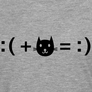 Formula For Happiness (Cat) T-skjorter - Premium langermet T-skjorte for menn
