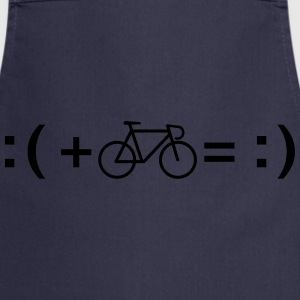 Formula For Happiness (Bike) T-shirts - Keukenschort