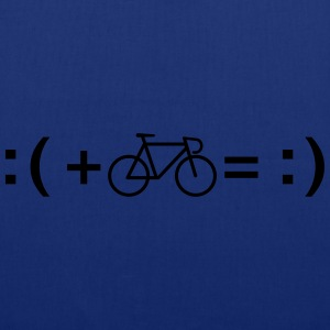Formula For Happiness (Bike) T-shirts - Tygväska