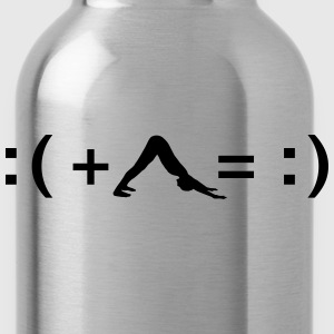 Formula For Happiness (Yoga) T-Shirts - Water Bottle