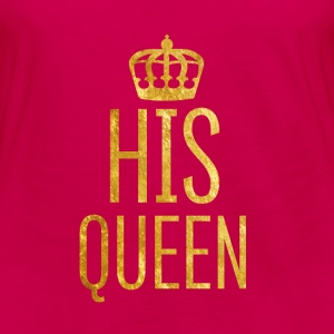 Queen // Partnershirt (Royal-Style) - Frauen Premium Langarmshirt