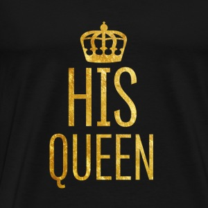 Queen // Partnerkissen - Männer Premium T-Shirt