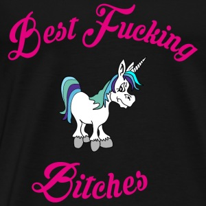Best fucking Bitches 2 Tops - Men's Premium T-Shirt