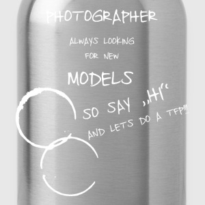 Photographer and Model Pullover & Hoodies - Trinkflasche