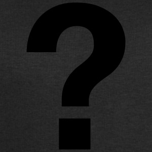 QUESTION MARK FRAGEZEICHEN black white men premium - Männer Sweatshirt von Stanley & Stella