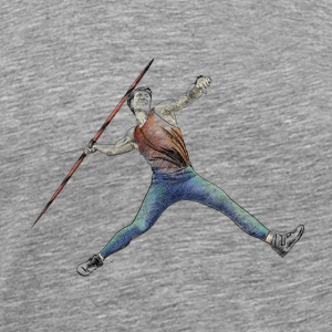 javelin throw Tops - Mannen Premium T-shirt