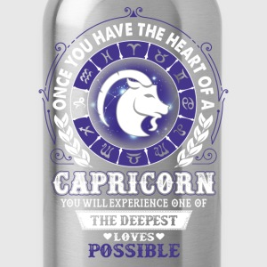 Capricorn - Deepest Loves Possible T-Shirts - Water Bottle