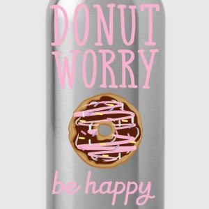 Donut Worry - Be Happy Tee shirts - Gourde