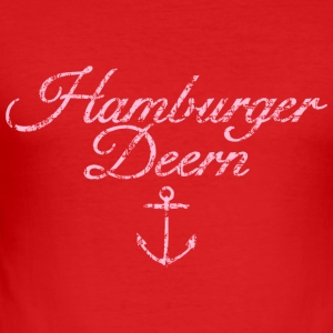 Hamburger Deern Hamburg Anker Babybody - Männer Slim Fit T-Shirt
