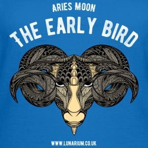 Aries Moon Contrast Colour Hoodie - Women's T-Shirt
