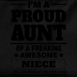 I'm A Proud Aunt Of A Freaking Awesome Niece T-Shirts - Kids' Backpack