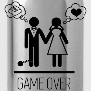 Game over - couples - Water Bottle