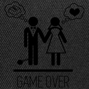 Game over - couples - Snapback Cap