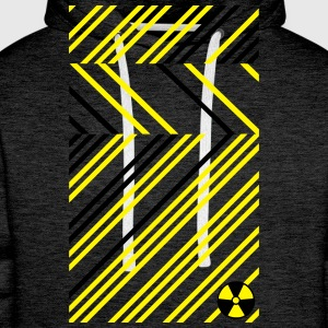 Radioactive Abstract Radioaktiv Abstrakt Muster T-Shirts - Männer Premium Hoodie