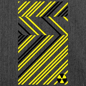 Radioactive Abstract Radioaktiv Abstrakt Muster T-Shirts - Schultertasche aus Recycling-Material