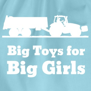 Big Toys For Big Girls T-Shirts - Turnbeutel