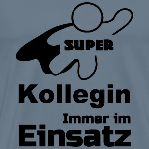 Super Kollegin Tops - Männer Premium T-Shirt