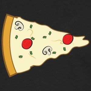 Pizza Couple (Part 2) T-Shirts - Männer Premium Langarmshirt