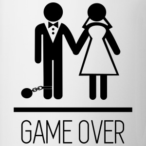 Parejas - Game over  Camisetas - Taza