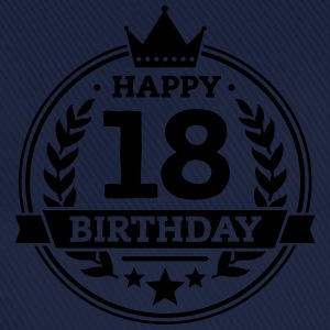 Happy 18. Birthday T-Shirts - Baseballkappe