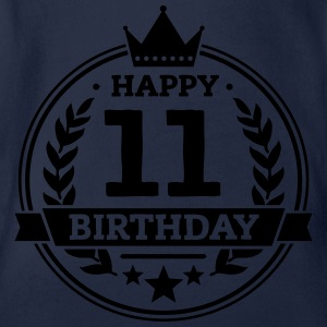 Happy 11. Birthday T-Shirts - Baby Bio-Kurzarm-Body