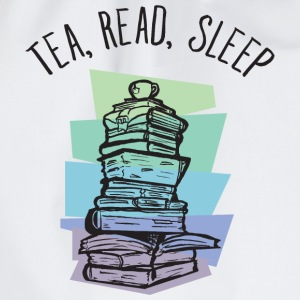 Tea, Read, Sleep Camisetas - Mochila saco