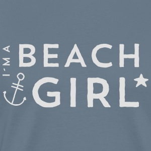 Beach Girl Tops - Männer Premium T-Shirt