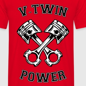 V-Twin power 18 Sweat-shirts - T-shirt Homme