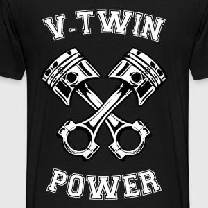 V-Twin power 19 Sweat-shirts - T-shirt Premium Homme