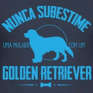 NS Golden Retriever Pullover & Hoodies - Männer Slim Fit T-Shirt