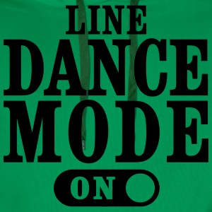 LINE DANCE MODE ON T-Shirts - Männer Premium Hoodie