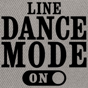 LINE DANCE MODE ON T-Shirts - Snapback Cap