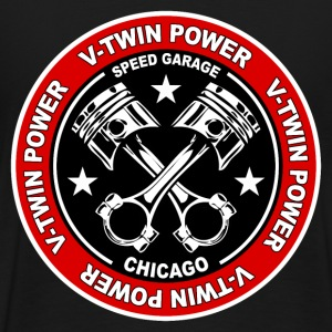 V-Twin power 21 Sweat-shirts - T-shirt Premium Homme