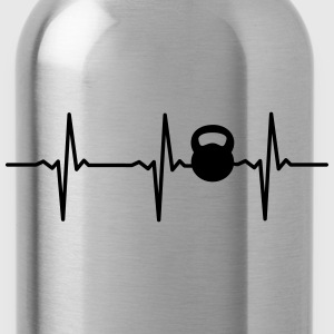 Heartbeat Kettlebell Tops - Water Bottle
