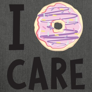 I Donut Care T-Shirts - Shoulder Bag made from recycled material